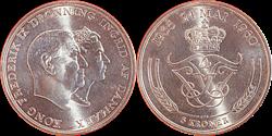 Kong Frederik IX og Dronning Ingrids Sølvbryllup -  1960