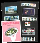 Danmark - Årsmappe 2017 - Flot årsmappe til pålydende værdi