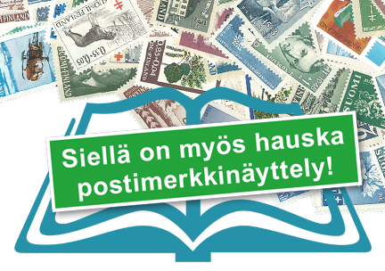 Helsingin KIRJA-messuilla