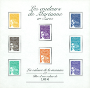 Frankrig - YT nr. 44 - Postfrisk miniark