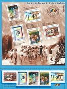 Frankrig - YT nr. 32 - Postfrisk miniark