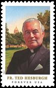 United States - Theodore Husburgh - Mint stamp