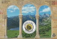 Spanien - Oviedo og Asturias - Postfrisk dobbeltlag miniark