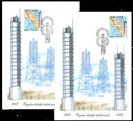 Estonia - Lighthouses - Set of Maxi Cards