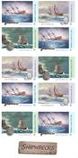 Australien - Skibsvrag - Postfrisk hæfte med 10 mærker