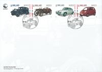 Norge - Biler - Førstedagskuvert med sæt