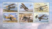 Jersey - Første verdenskrig - Postfrisk miniark 6v
