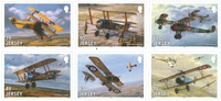 Jersey - The Great War - 100 Years - Mint set 6v