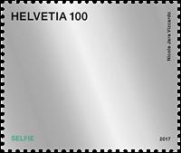Schweiz - Selfie - Postfrisk frimærke
