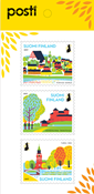 Finland - National Parks - Mint set 3v