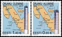 Estonia - Lighthouses - Mint set 2v