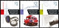 Australian Antarctic- Cultural Heritage - Mint set 3v