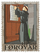 Faroe Islands - Reformation - Mint stamp