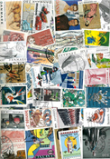 Denmark - 1100 different stamps