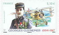 France - Guynemer air mail - Mint stamp