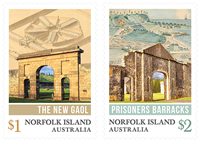 Norfolk Islands - Convicts - Mint set 2v