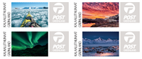 Greenland - Franking labels 2017 - Mint set 4v