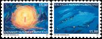 Grønland - Jul 2017 - Postfrisk sæt 2v