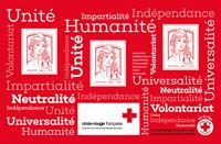 Frankrig - Røde Kors - Postfrisk miniark