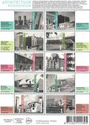 Netherlands - Architecture / Rebuilding - Mint souvenir sheet