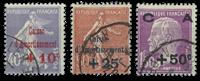 France 1927 - YT 249-51 - Cancelled