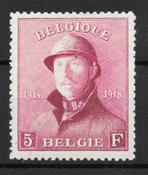 Belgium 1919 - AFA 156 - Unused
