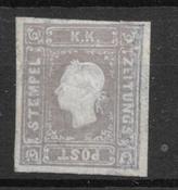 Austria 1858 - Av. AFA 6 - Nuevo con charnela