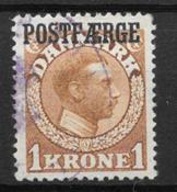 Denmark 1919 - PF AFA 4 - Cancelled
