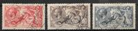 England 1918 - AFA 142-144 - Cancelled