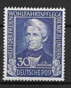 Alemania Occidental 1949 - AFA 1083 - Nuevo
