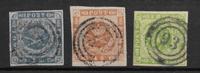 Dinamarca 1854 - AFA 3-5 - Usado