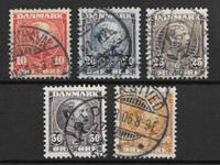 Dinamarca 1858 - AFA 7-8 - Usado