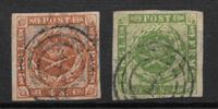 Denmark 1904 - AFA 47-51 - Cancelled