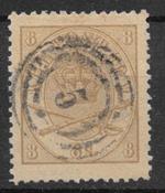 Dinamarca 1864 - AFA 14 - Usado