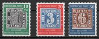 Alemania Occidental 1949 - AFA 1076-1078 - Nuevo