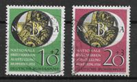 Alemania Occidental 1951 - AFA 1104-1105 - Usado