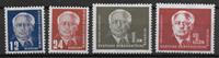 Alemania del Este 1950 - AFA 90-93 - Nuevo