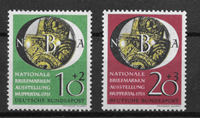 West Germany 1951 - AFA 1104 to 1105 - Mint