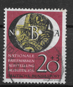 West Germany 1951 - AFA 1105 - Cancelled