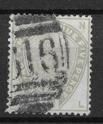 England 1883 - 78 AFA - Cancelled