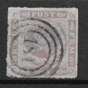 Denmark 1863 - AFA 10 - Cancelled