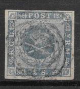 Dinamarca 1855 - AFA 3 - Usado