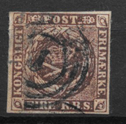 Dinamarca 1853 - AFA IIa - Usado