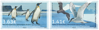 French Antarctic - Joint Issue with Greenland - Mint set 2v