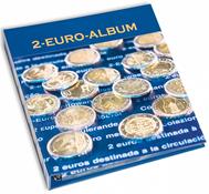 NUMIS fortryksalbum - Bind 1– 6 - 2004-2016 - 2-Euro erindrings-mønter