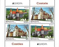 Romania - Europa 2017 type I (4,5 u) - Mint souvenir sheet