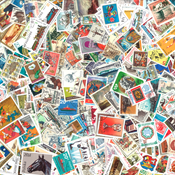 Europe - 500 different stamps