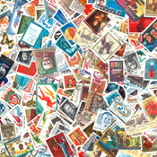 Russia - 300 different stamps