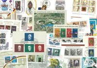 Vesttyskland - 30 forskellige miniark