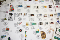 West Germany - 200 different first day covers